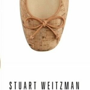 Stuart Weitzman Cork Flats LIKE NEW!